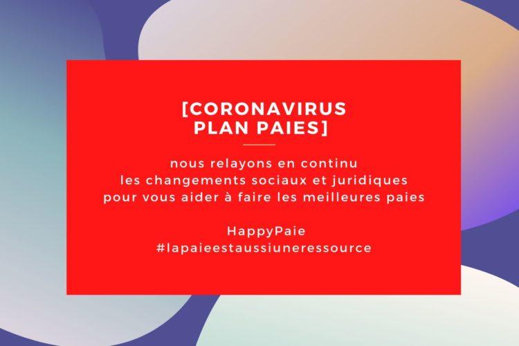 HappyPaie se mobilise dans le cadre de la crise liée au coronavirus